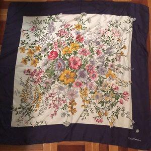Pierre Cardin silk scarf
